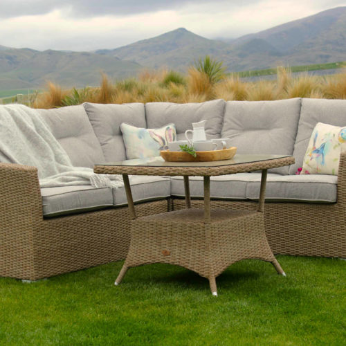 Araucana Corner Suite Seagrass - Outdoor Furniture New Zealand