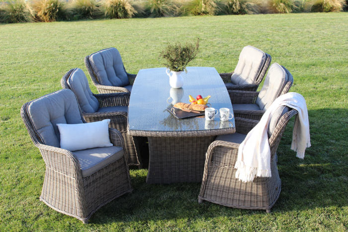 Dunstan Dining Suite - Outdoor Furniture NZ