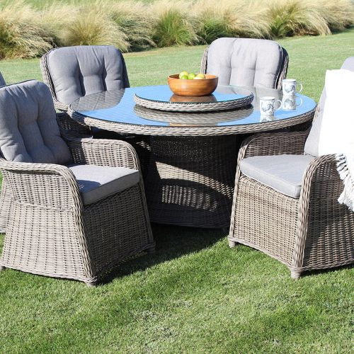 NZ outdoor furniture - Glaston Dining Suite