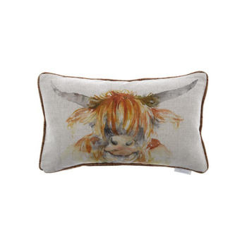 Voyage Maison - Highland Cow Cushion, Outdoor Furniture accessories NZ