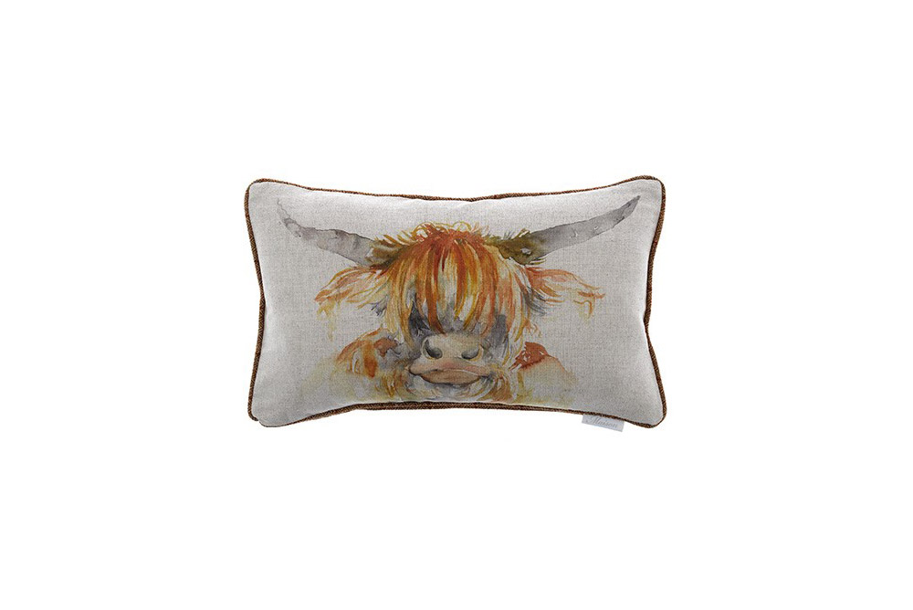 Voyage Maison - Highland Cow Cushion