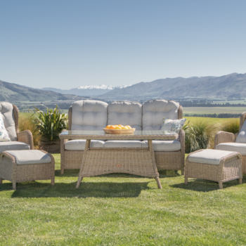 Wicker reclining outdoor furniture - premium outdoor furniture NZ