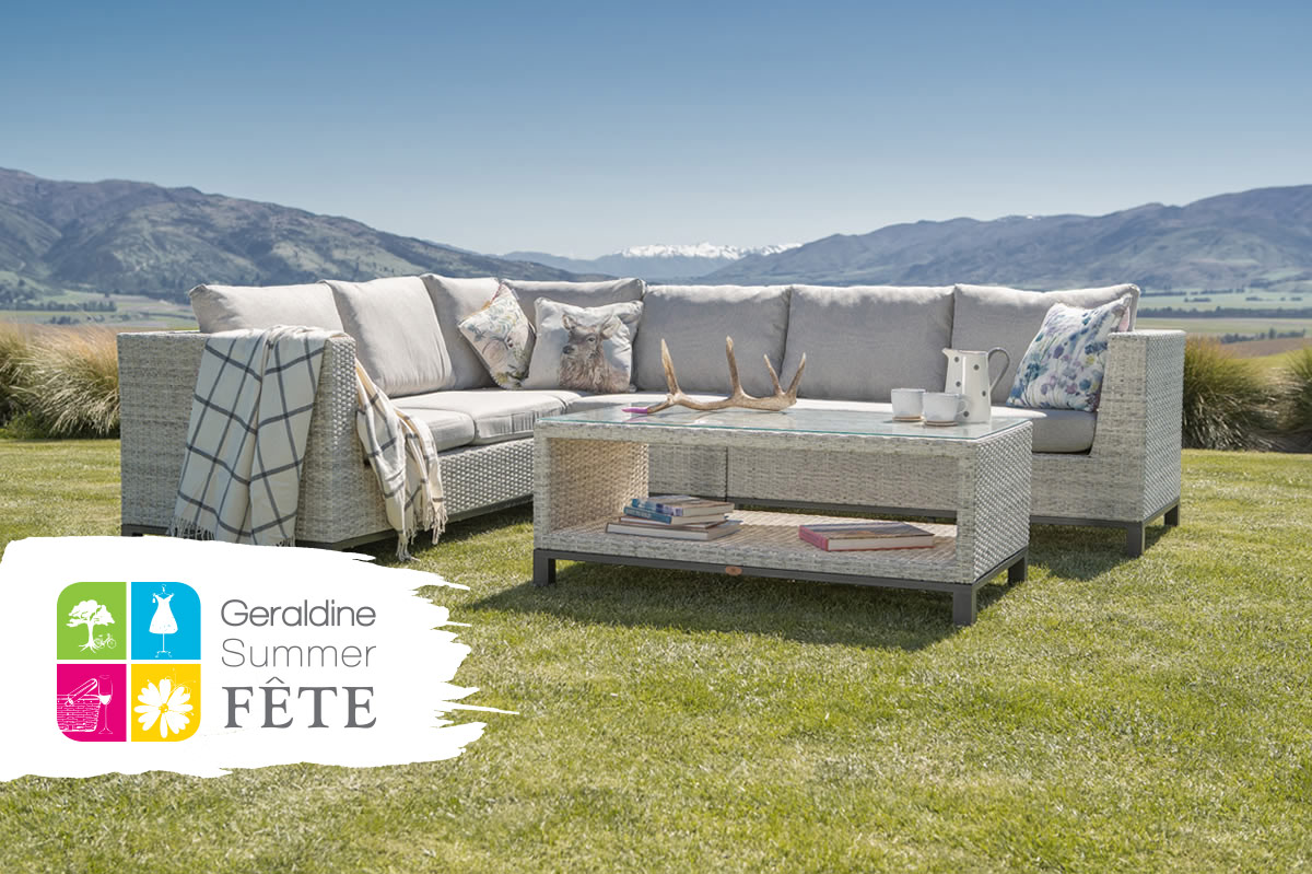Visit Mountain Weave Outdoor Furniture at the Geraldine Summer Fete!